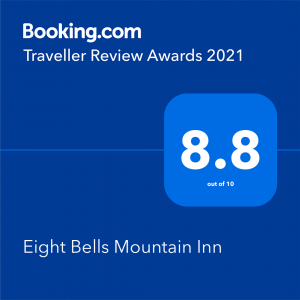 Eightbells Booking .com Award